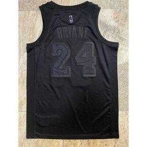 Los Angeles Lakers #24 Kobe Bryant Black MVP Jerse